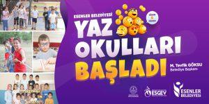 Esenler Belediyesi Yaz Okulları başladı