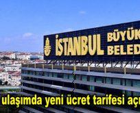 İstanbul'da ulaşımda yeni ücret tarifesi açıklaması