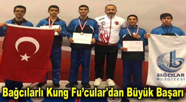Bağcılarlı Kung Fu'cular'dan büyük başarı