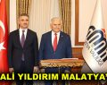 Binali Yıldırım Malatya Valiliğini ziyaret etti