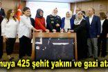Kamuya 425 şehit yakını ve gazi atandı