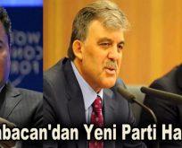 Ali Babacan'dan Yeni Parti Hazırlığı