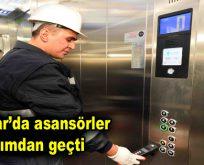 Bağcılar'da asansörler bakımdan geçti