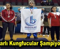 Bağcılar Belediyesi Wushu Kung-fu takımı İstanbul şampiyonu oldu