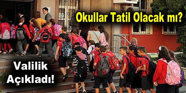 Deprem sonrası İstanbul'da okullar tatil olacak mı?