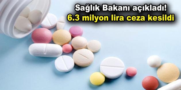 Sağlık Bakanı Koca açıkladı! 6.3 milyon lira ceza kesildi