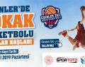 Esenler'de Sokak Basketbolu kayıtları başladı