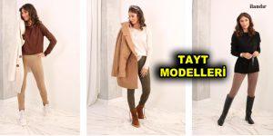 Renkli Kadın Tayt Modelleri