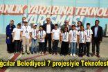 Bağcılar Belediyesi 7 projesiyle Teknofest'te görücüye çıktı