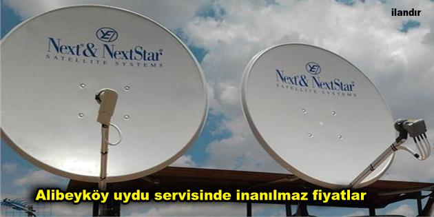 Alibeyköy uydu servisinde inanılmaz fiyatlar