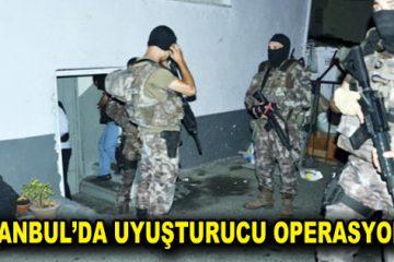 İstanbul'da 1 ton 800 kilo uyuşturucu ele geçirildi