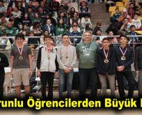 Enderunlu öğrencilerden büyük başarı