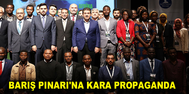 BARIŞ PINARI'NA KARA PROPAGANDA