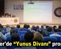 """Esenler'de """"Yunus Divanı"""" programı"""