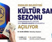 ESENLER'DE KÜLTÜR SANAT SEZONU AÇILIYOR