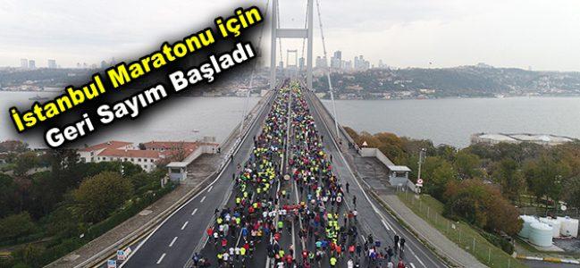 İstanbul Maratonu için geri sayım başladı