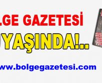 BÖLGE GAZETESİ 20 YAŞINDA!