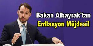 Bakan Albayrak'tan enflasyon müjdesi!