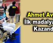 Ahmet Avşar ilk madalyasını kazandı