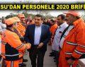 GÖKSU'DAN PERSONELE 2020 BRİFİNGİ