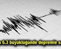 Rusya 6.3 büyüklüğünde depremle sarsıldı