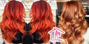 Kızıl Ombre Saç Renkleri ve Modelleri