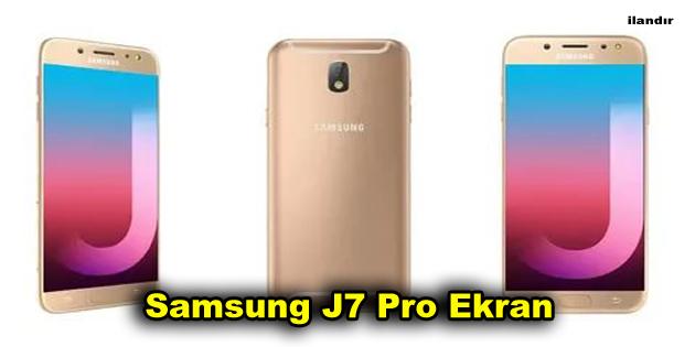 Samsung J7 Pro Ekran
