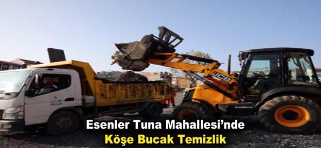 Esenler Tuna'da Köşe Bucak Temizlik