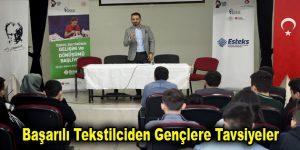 Başarılı Tekstilciden Gençlere Tavsiyeler