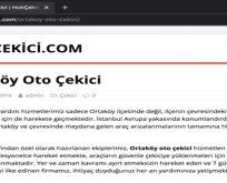 Ortaköy Oto Çekici İçin Doğru Adresi: HizliCekicicom