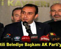 İYİ Partili Belediye Başkanı AK Parti'ye geçti