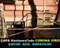 İstanbul Çapa Hastanesi'nde Corona Virüs Paniği!