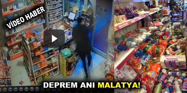Malatya'da deprem görüntüleri