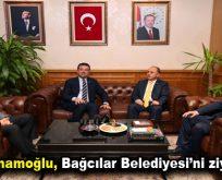 Ekrem İmamoğlu, Bağcılar Belediyesi'ni ziyaret etti