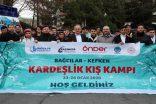 Bağcılarlı Gençler Kefken Kış Kampı'na uğurlandı