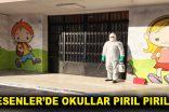 Esenler'de okullar pırıl pırıl
