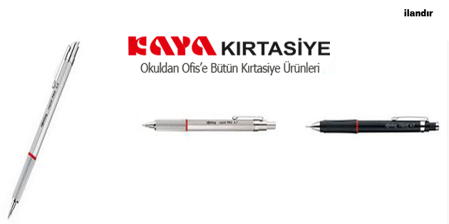 Rotring Kalemlerle Çizim Keyfi