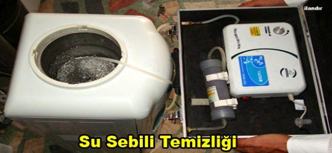 Su Sebili Temizliği Firmaları