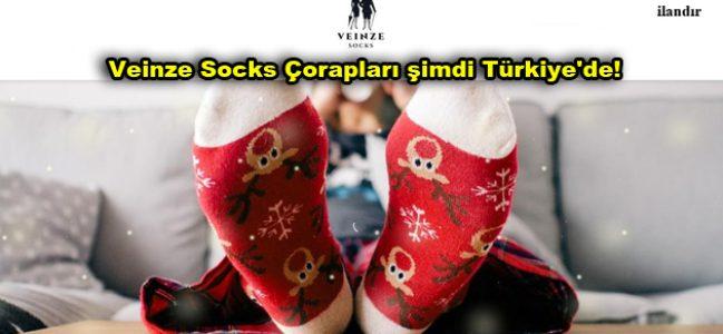 Veinze Socks Çorapları şimdi Türkiye'de!