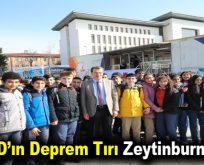 AFAD'ın Deprem Tırı Zeytinburnu'nda