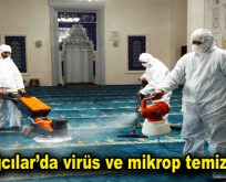 Bağcılar'da virüs ve mikrop temizliği
