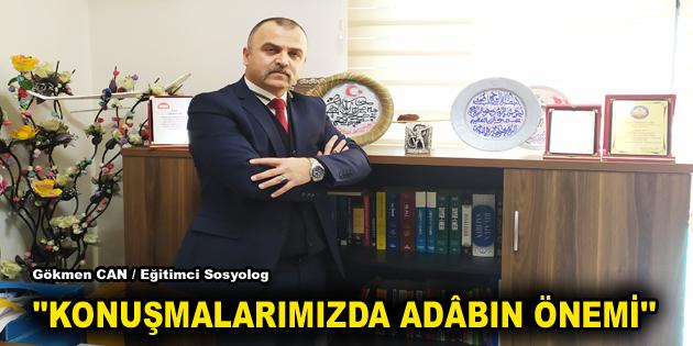 """""""KONUŞMALARIMIZDA ADÂBIN ÖNEMİ"""""""