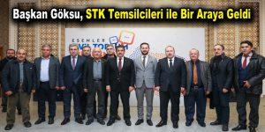 Başkan Göksu STK Temsilcileri ile Bir Araya Geldi