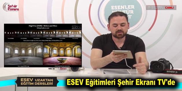 ESEV Eğitimleri Şehir Ekranı TV'de