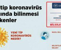 Sağlık Bakanlığı'ndan Koronavirüs Hakkında bilgilendirme!