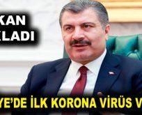 Corona virüsü Türkiye'ye sıçradı!