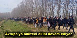 Avrupa'ya mülteci akını devam ediyor