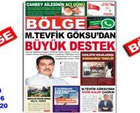"""BÖLGE GAZETESİ """"NİSAN"""" SAYISI ÇIKTI!.."""