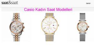 Casio Kadın Saat Modelleri