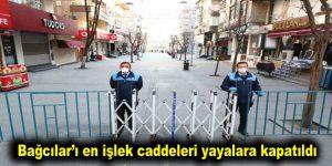 Bağcılar'ı en işlek caddeleri yayalara kapatıldı